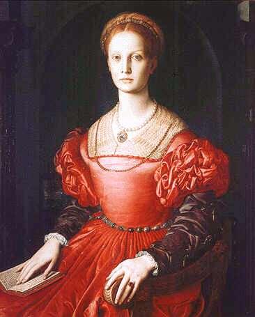 Uffizi 01(Agnolo Bronzino - Portret van Lucrezia Panciatichi)