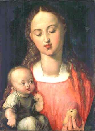 Uffizi 02 (Albrecht Dürer - Madonna met Kind)