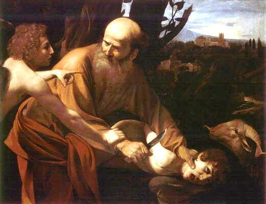 Uffizi 08 (Caravaggio - Het offer van Isaac)