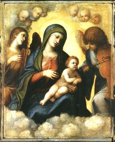 Uffizi 10 (Correggio - Madonna en Kind)