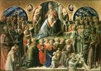 Uffizi 12 (Filippo Lippi - Kroning van de Maagd)