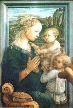 Uffizi 13 (Filippo Lippi - Madonna en Kind)