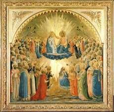 Uffizi 14 (Fra Angelico - Kroning van de Maagd)