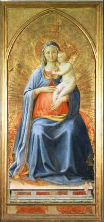 Uffizi 15 (Fra Angelico - Madonna en Kind)