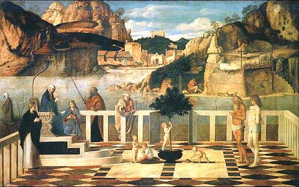 Uffizi 18 (Giovanni Bellini - Allegorie)
