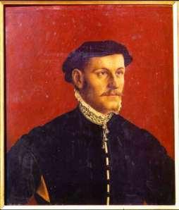Uffizi 19 (Hans Holbein - Portret van een man)