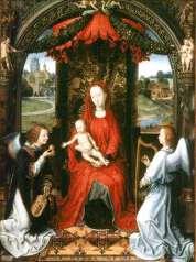 Uffizi 20 (Hans Memling - Madonna met Kind)