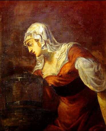 Uffizi 21 (Jacopo Tintoretto - De Samaritaanse vrouw)