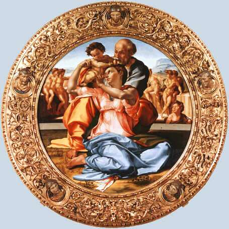 Uffizi 26 (Michelangelo Buonarroti - Heilige Familie)