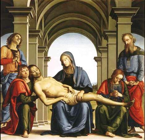 Uffizi 29 (Perugino - Pietà)