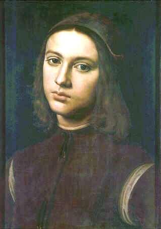 Uffizi 30 (Perugino - Portret van een man)