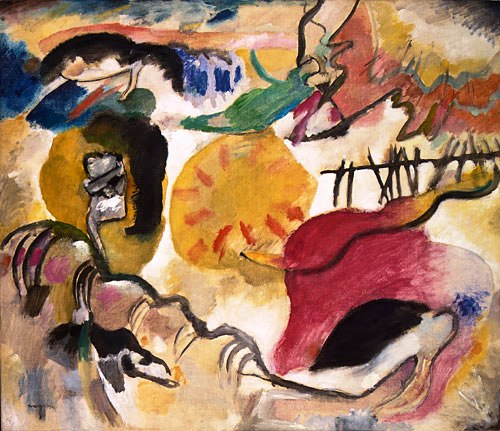Vassily Kandinsky - De tuin der liefde - 1912