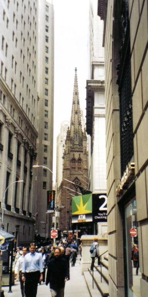 Wall Street 10 (Trinity Church)