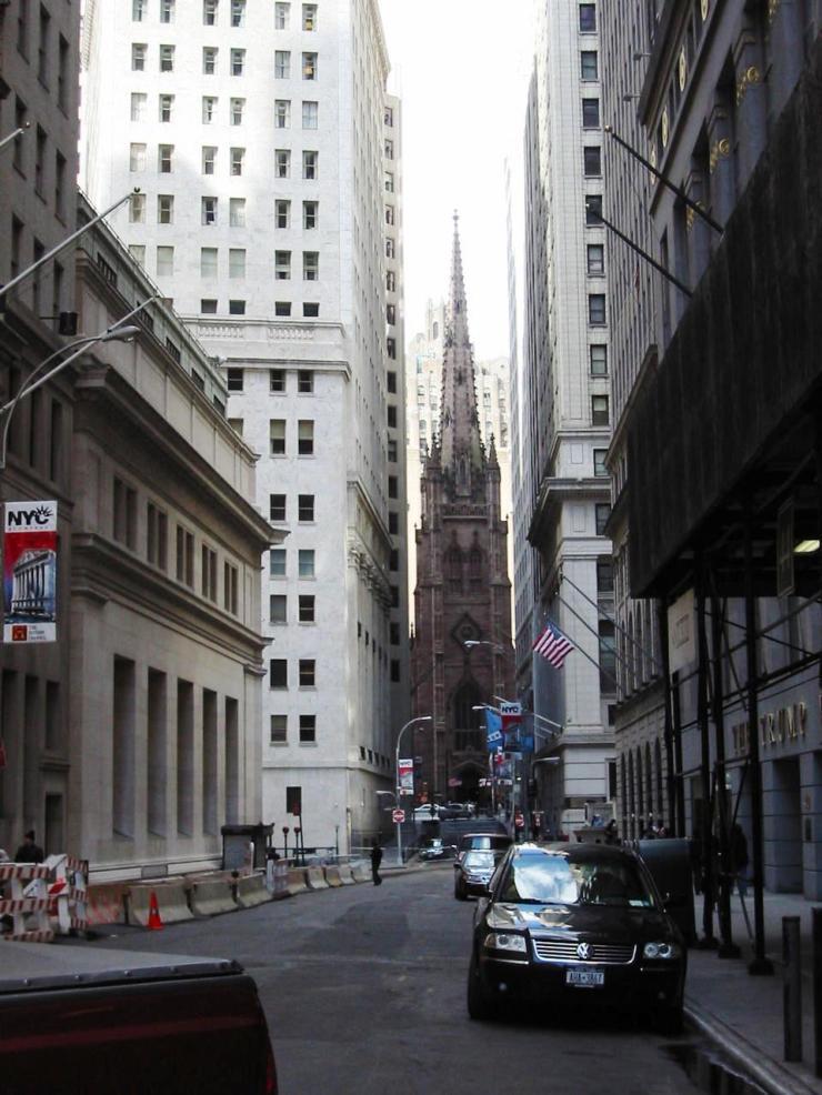 Wall Street 11 (Trinity Church)