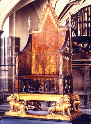 Westminster Abbey 22 (Coronation Chair)