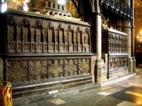 Westminster Abbey 31 (tombes van Richard II & Richard III)
