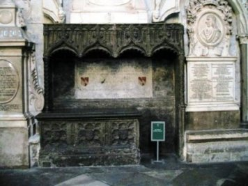 Westminster Abbey 33 (tombe van Geoffrey Chaucer)