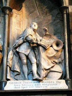 Westminster Abbey 35 (tombe van Georg Handel