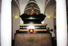 Westminster Abbey 38 (tombe van Horatio Nelson)