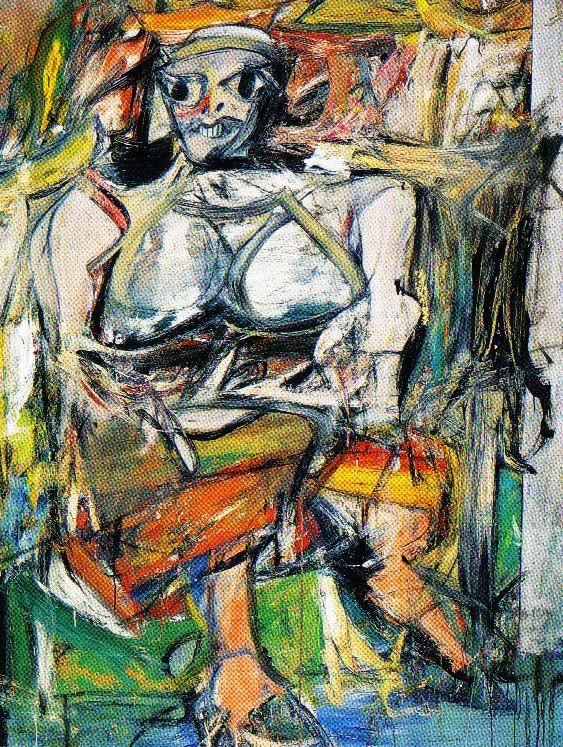 Willem de Kooning - Vrouw I - 1952