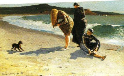 Winslow Homer - Manchester, Massachusetts - 1870