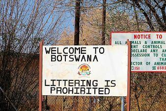 Botswana 01 (grens met Zimbabwe)