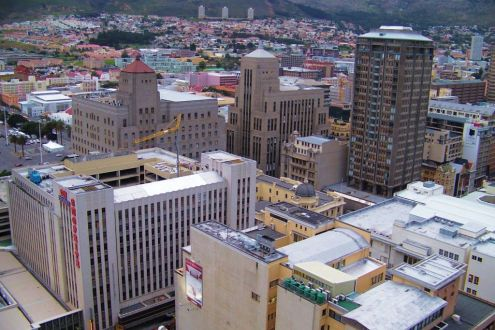Kaapstad 01 (zicht vanuit hotel)
