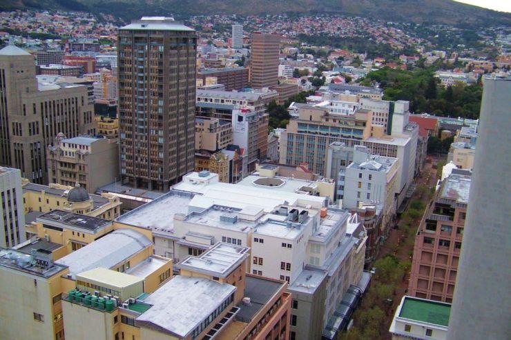 Kaapstad 02 (zicht vanuit hotel)