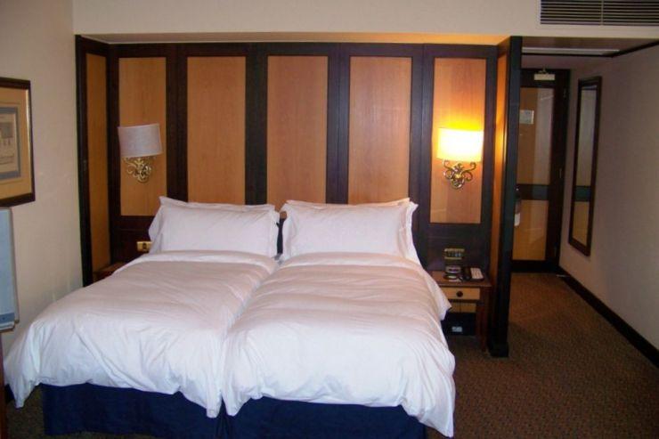Kaapstad 13 (hotelkamer)