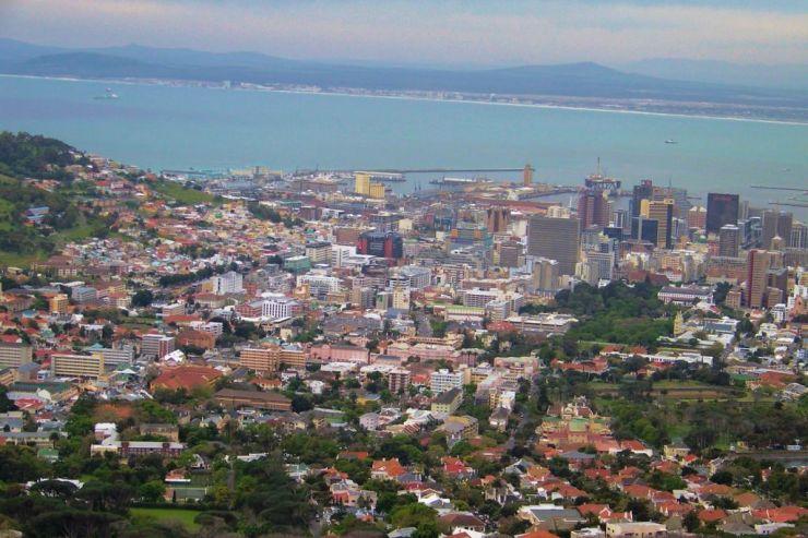 Tafelberg 05 (zicht op Kaapstad)