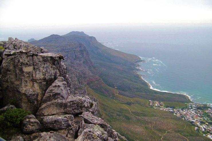 Tafelberg 09 (zicht op Kaapstad)