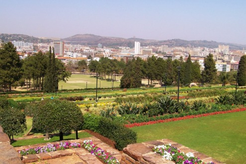Union Buildings 06 (tuin)