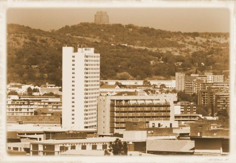 Union Buildings 11 (zicht op Johannesburg)