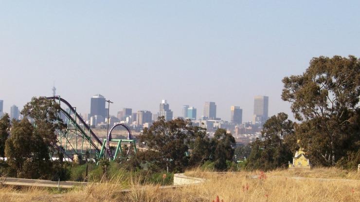 Union Buildings 12 (zicht op Johannesburg)